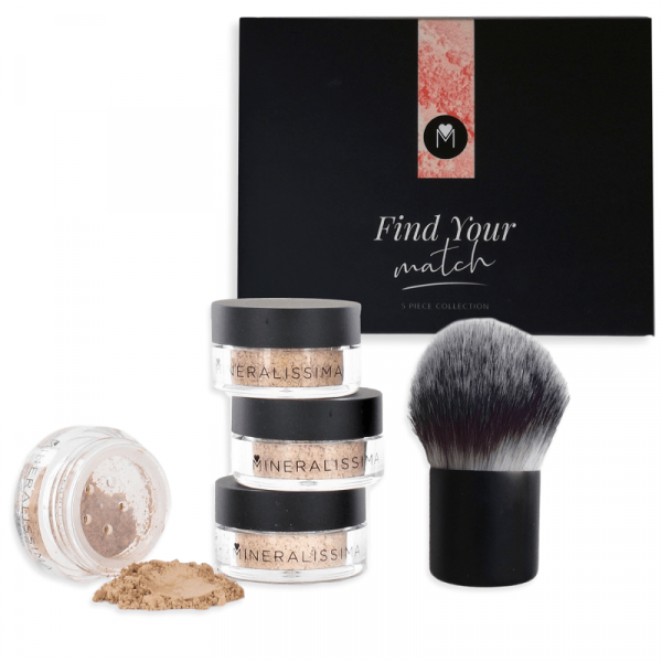 Find your match foundation set Getint-Donker