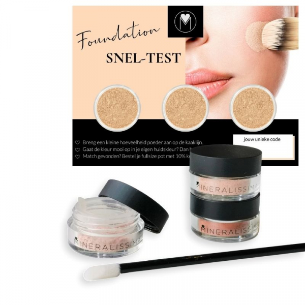 Limited edition - Foundation Snel-Test